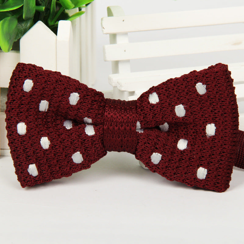 Knitted Bow Ties - Epicurean Style