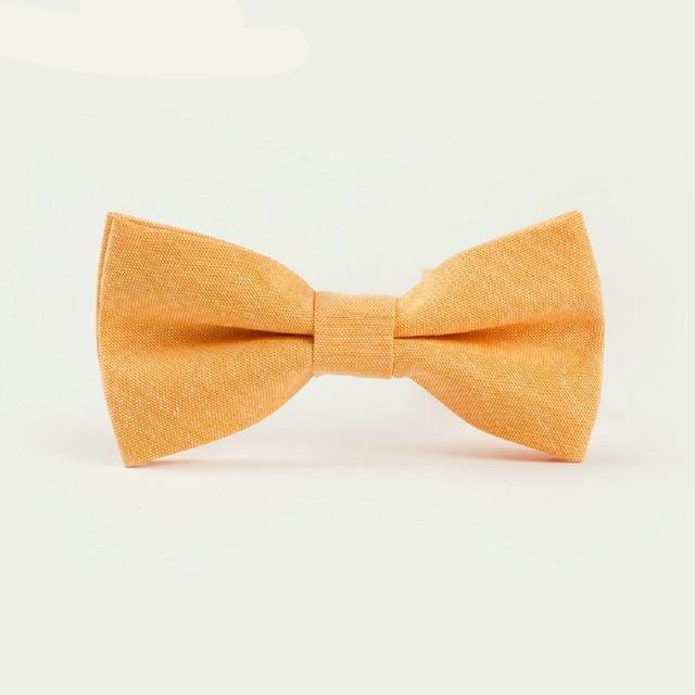 Solid Cotton Bow Ties - Epicurean Style