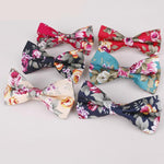 Formal Floral Bow Ties - Epicurean Style