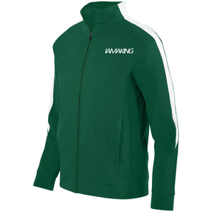WINNERS RUN TRACK SUIT TOP GREEN - Pa·nache Couture