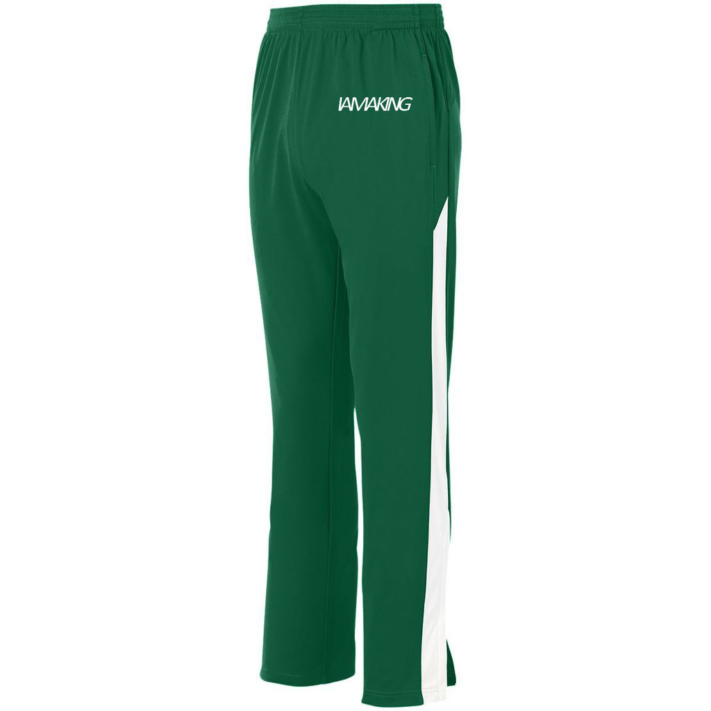 The Winners Run Track Pant Green - Pa·nache Couture