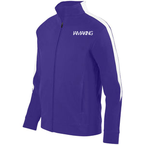 WINNERS RUN TRACK SUIT TOP PURPLE - Pa·nache Couture