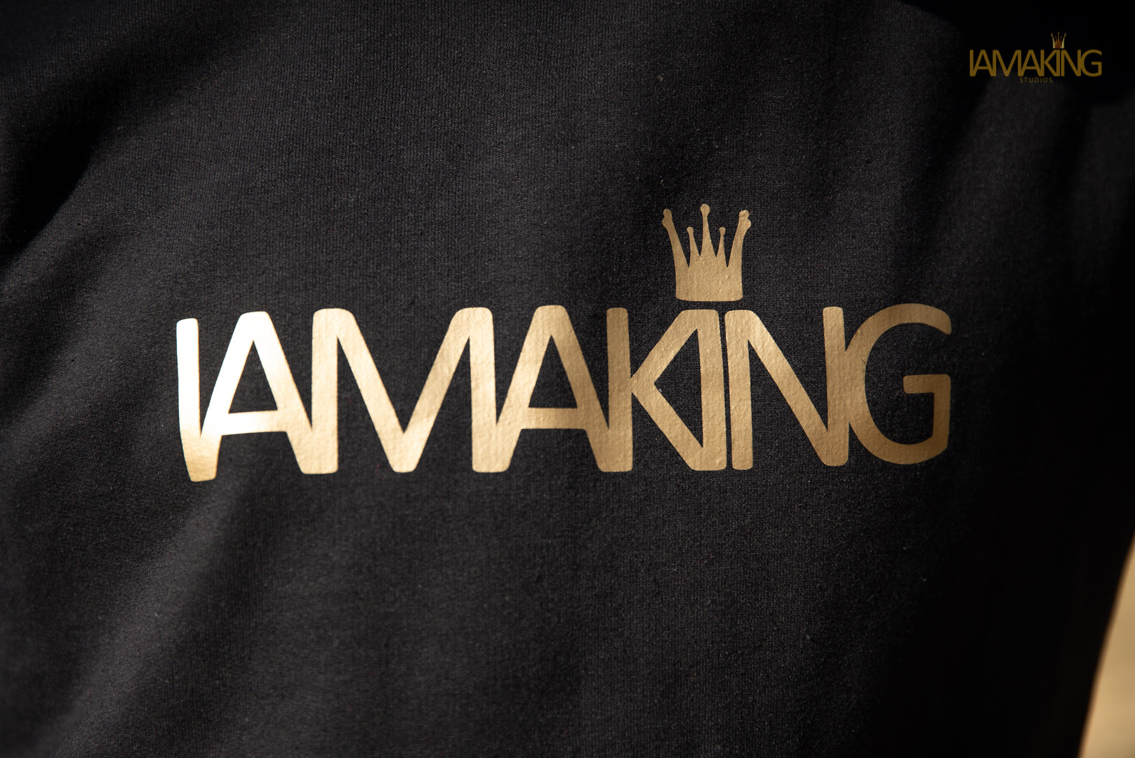 Kings Gold Hoodie - Pa·nache Couture