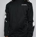 Load image into Gallery viewer, WINNERS RUN TRACK JACKET BLACK - Pa·nache Couture