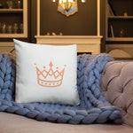 "Load image into Gallery viewer, ""BAD QUEEN"" Pillow - Pa·nache Couture"