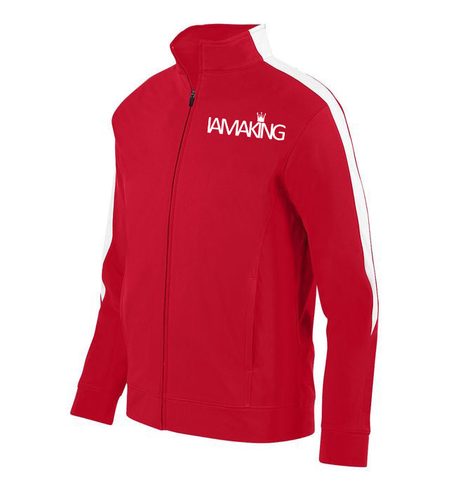 WINNERS RUN TRACK SUIT TOP RED - Pa·nache Couture