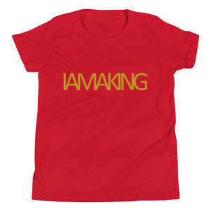 "IAMAKING ""The Future is Now"" Youth T-Shirt - Pa·nache Couture"