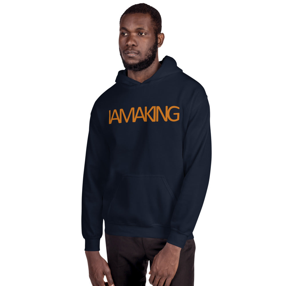 Royal Blue Kings Hoodie - Pa·nache Couture