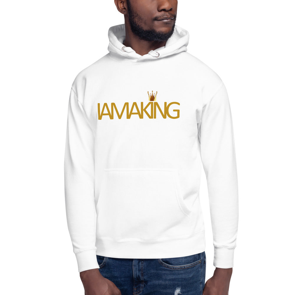 "IAMAKING ""The Crown""Hoodie - Pa·nache Couture"