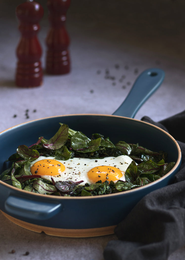 spinach and eggs breakfast recipe
