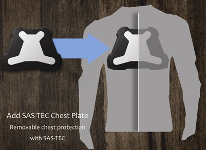 SAS-TEC Removable Chest Protection
