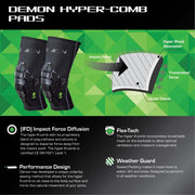 Demon United Hyper-Comb Elbow Pad