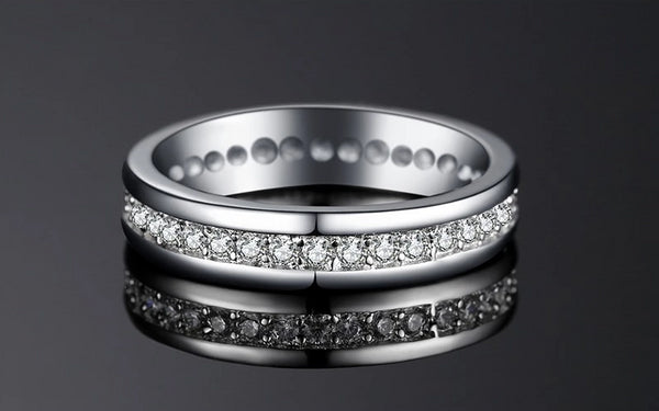 Wedding Eternity Rings,live-better-living,Silver Baroque,