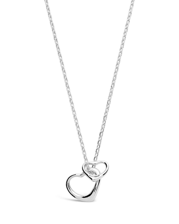 Silver Heart Charm Necklace,live-better-living,Silver Baroque,Necklace