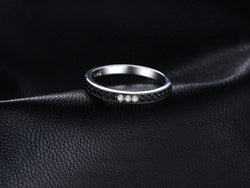 Black Spinel Rings