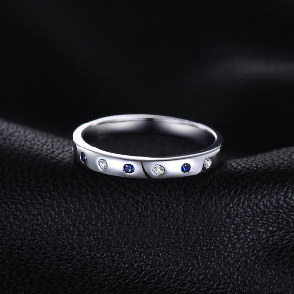 Sapphire Rings,live-better-living,Silver Baroque,