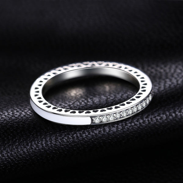 Glitter Silver Ring,live-better-living,Silver Baroque,