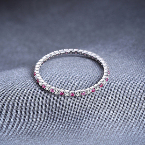 Ruby Ring,live-better-living,Silver Baroque,