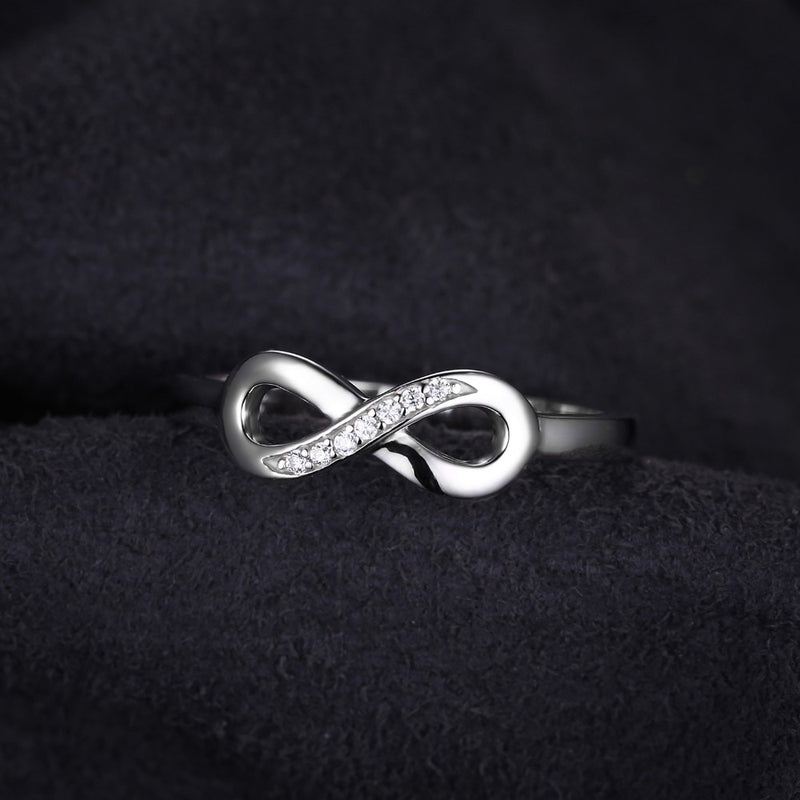 Infinity Ring,live-better-living,Silver Baroque,