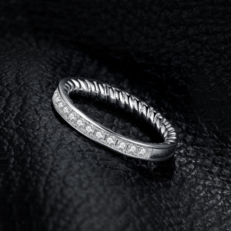 Twisted Rope Rings,live-better-living,Silver Baroque,
