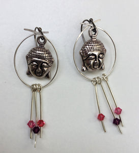 Serene Buddha Earrings