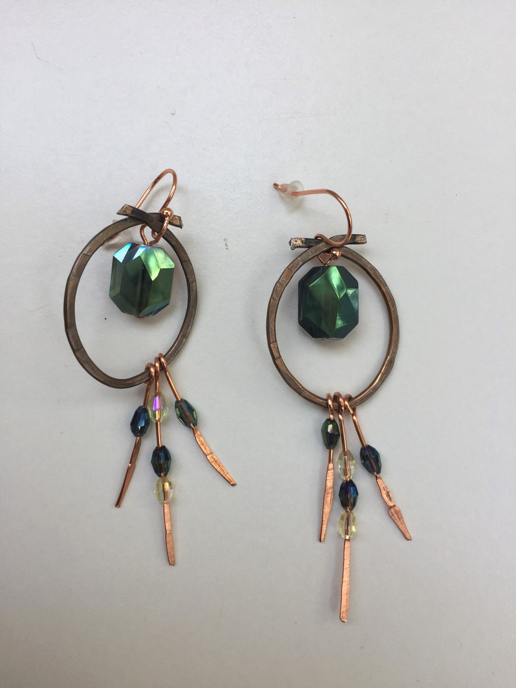 Green Goddess Earrings