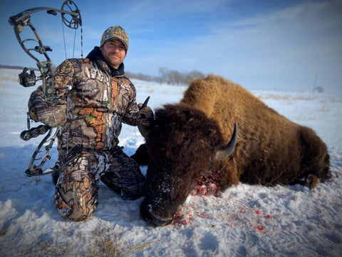 Athens Archery Bison Archery Hunt Bone Cold TV