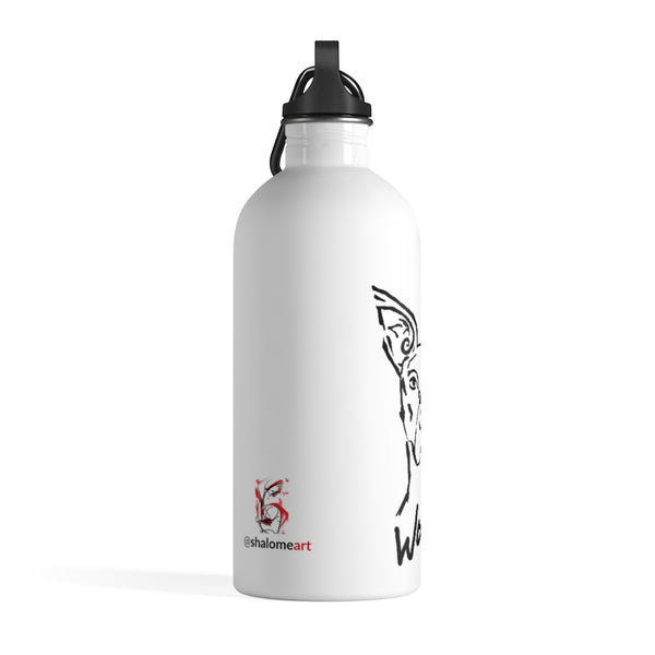 Stainless Steel Water Bottle - Woof Series - At Attention