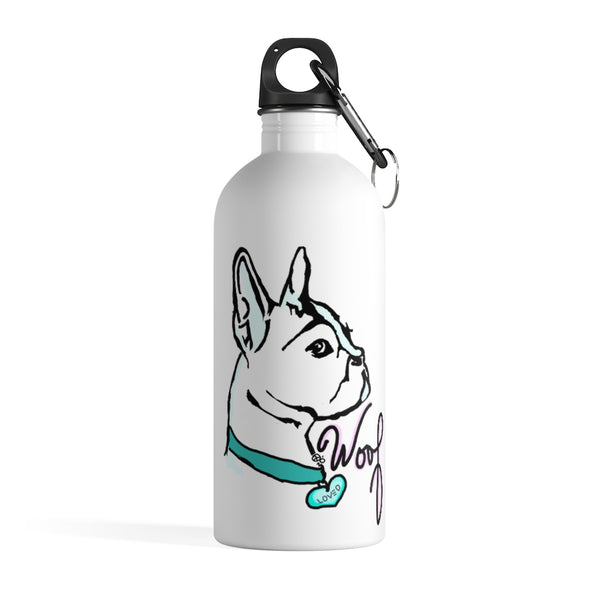 Stainless Steel Water Bottle - Woof Series - Pretty Please