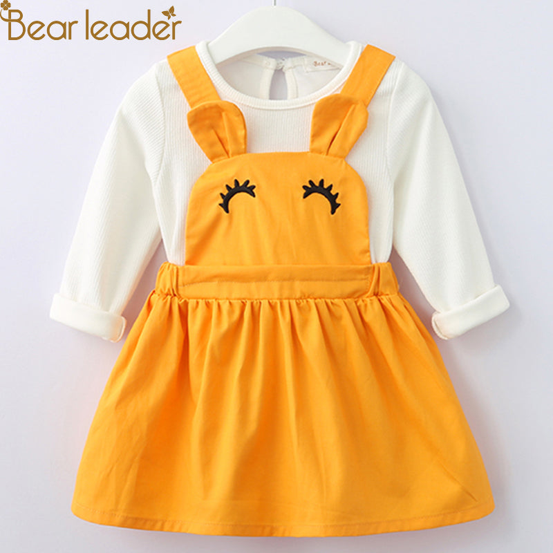 Bear Leader Baby Girls Dress - allyourkidneed