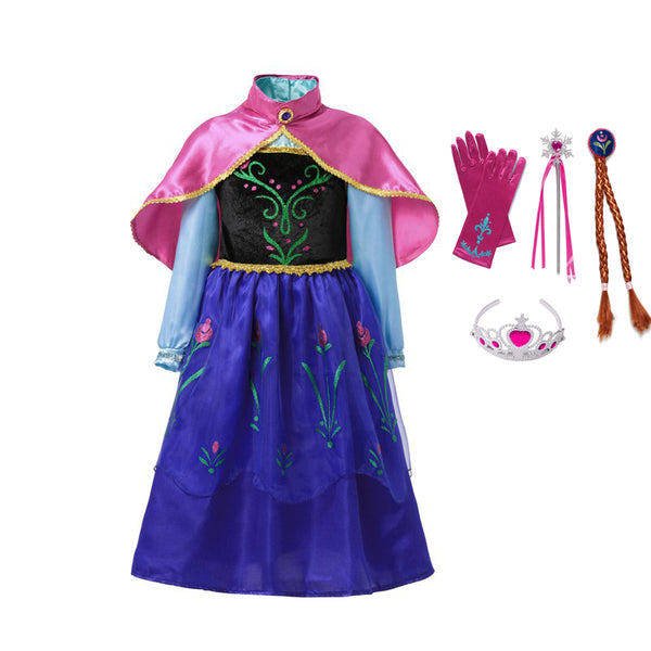 Anna Dress up Costume - allyourkidneed