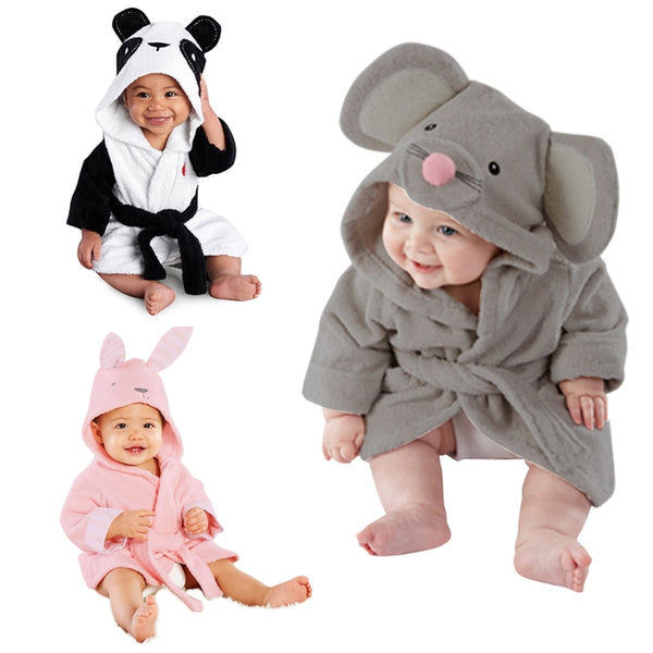 Baby Bathrobe Cotton - allyourkidneed