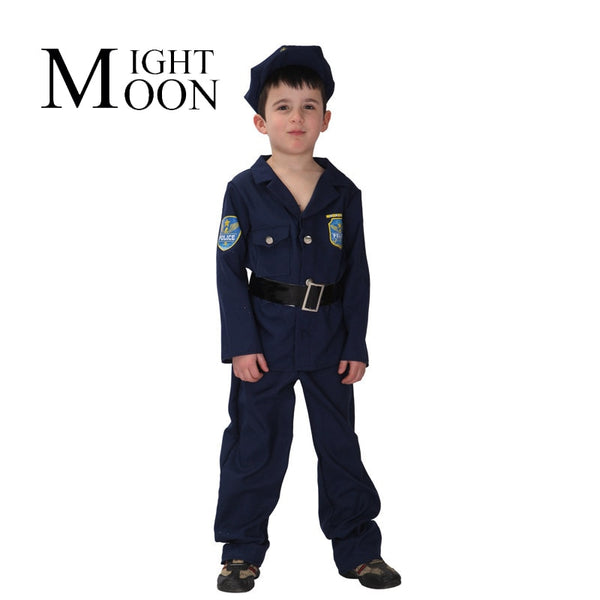 Kids Police Officer Uniform Boys - allyourkidneed