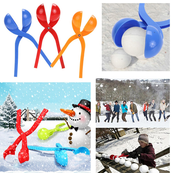 Winter Snowball Maker Sand Mold - allyourkidneed