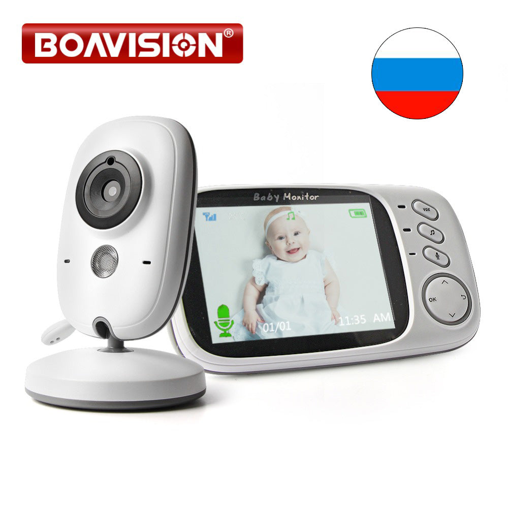 3.2 Inch LCD Video Baby Monitor 2.4G Wireless - allyourkidneed