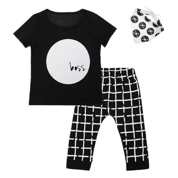 3pcs/Set Children Cloth Outfits - allyourkidneed
