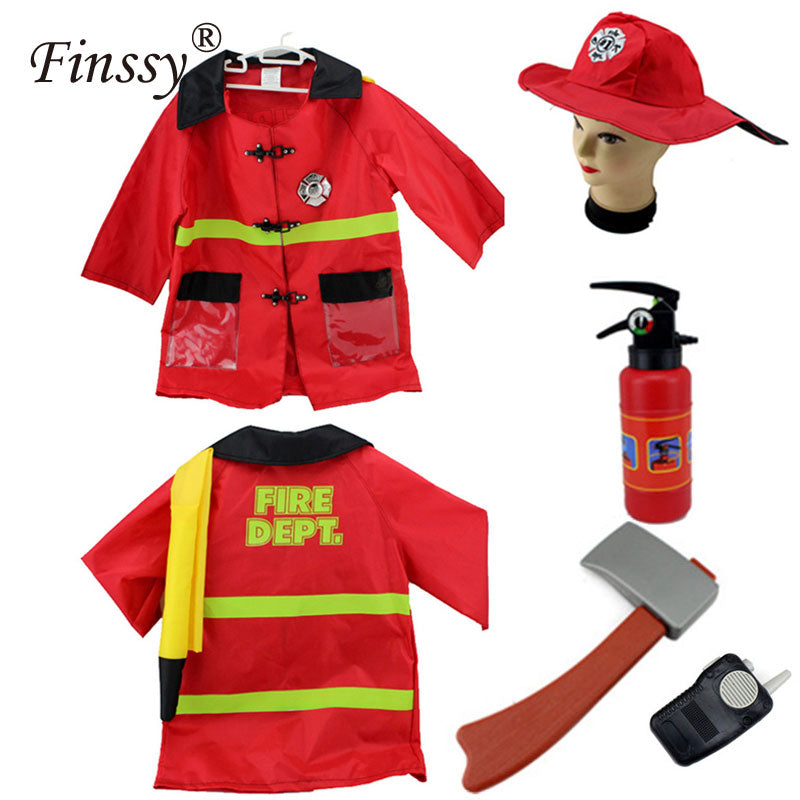 Fireman Sam Kids Costume - allyourkidneed
