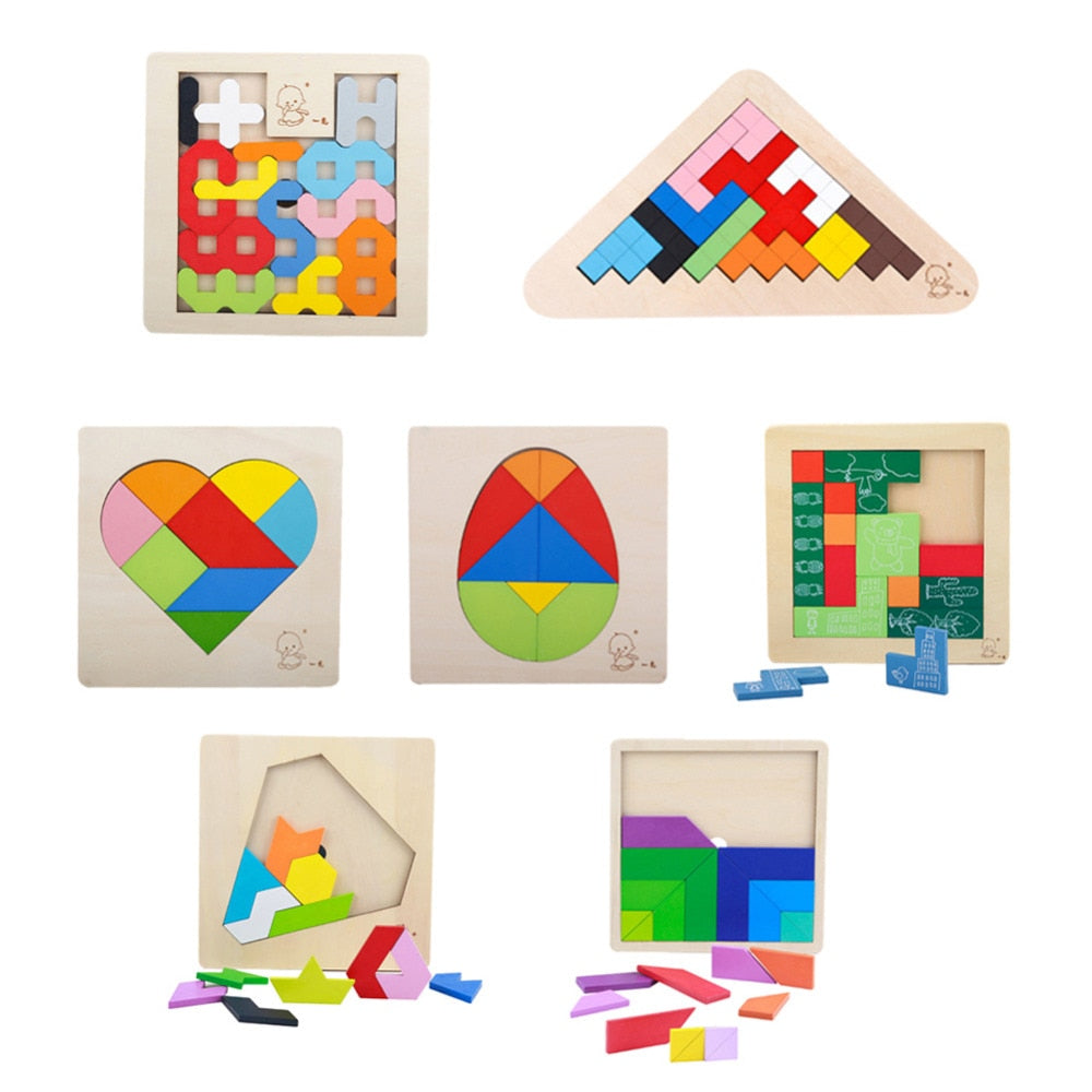 Geometry Cognition Learning Educational Toys - allyourkidneed