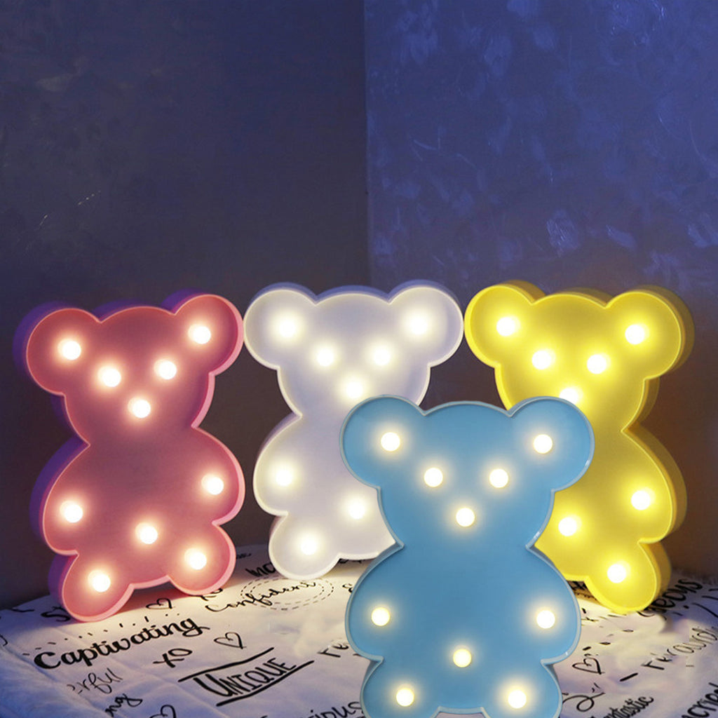 Animal Night Lights Bear LED - allyourkidneed