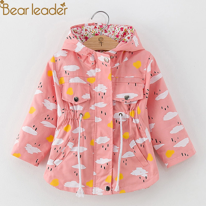 Fashion Cartoon Cloud Print Coats - allyourkidneed