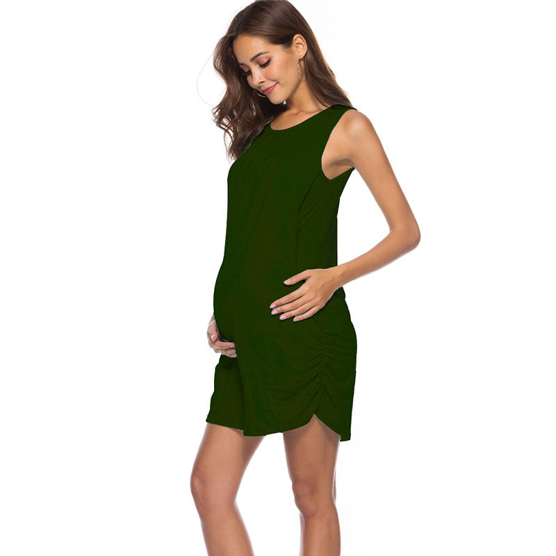 Maternity Feeding Clothes Nursing Dresses - allyourkidneed