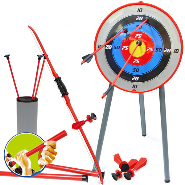 Bow&Arrow Archery Set&Target Outdoor - allyourkidneed