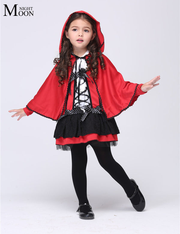 Red Little Hood Girl Cosplay Costume - allyourkidneed