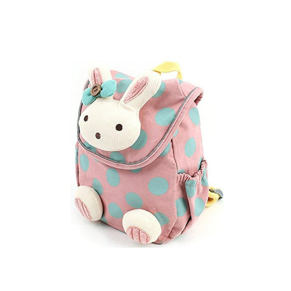 Kids School Bag Animal Rabbit - allyourkidneed