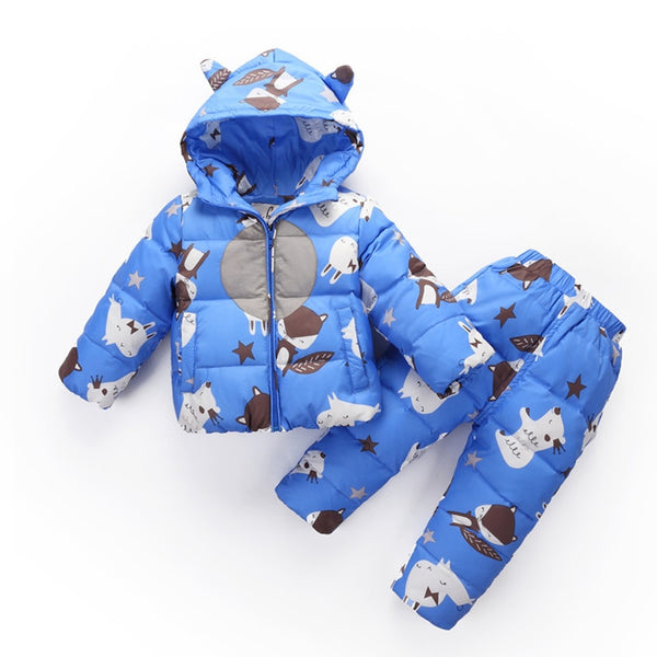 Warm Jacket For Baby Boys 1-3T - allyourkidneed