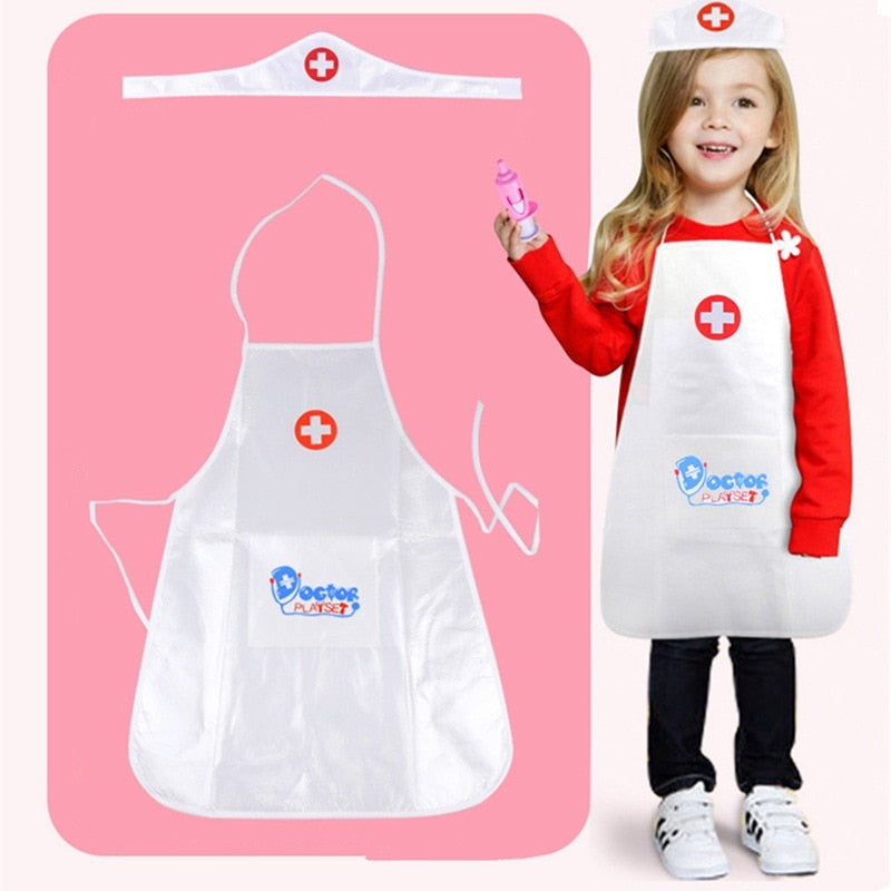Kids Pretend Play Doctor Nurse Clothing - allyourkidneed