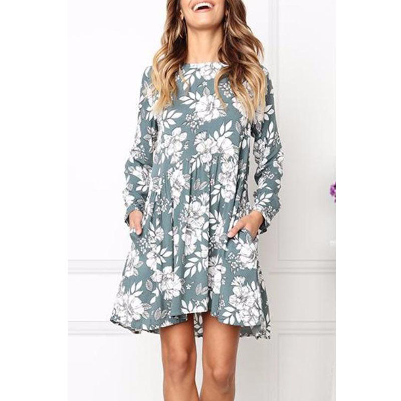 Long Sleeve Maternity Dress For Pregnant Women - allyourkidneed