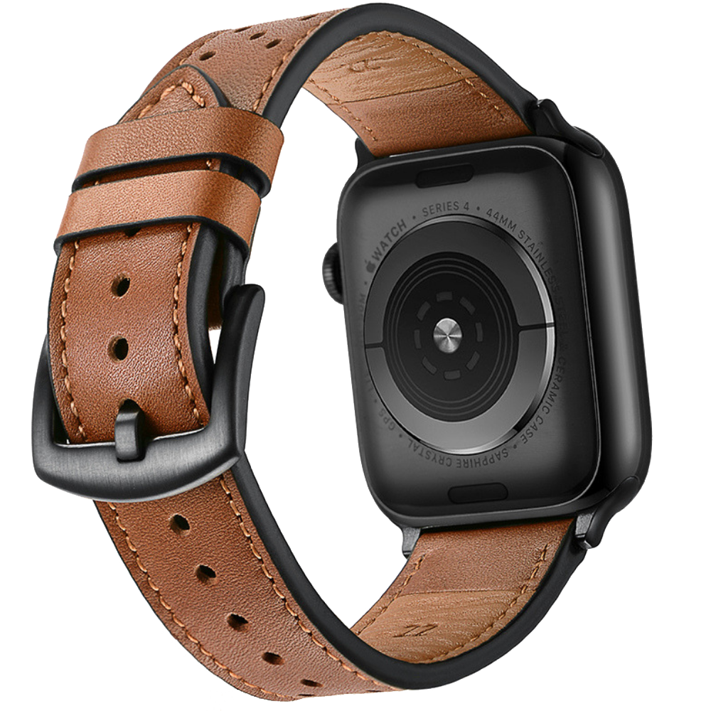 Premium Leather Bands For Apple Watch Series 4 3 2 And 1