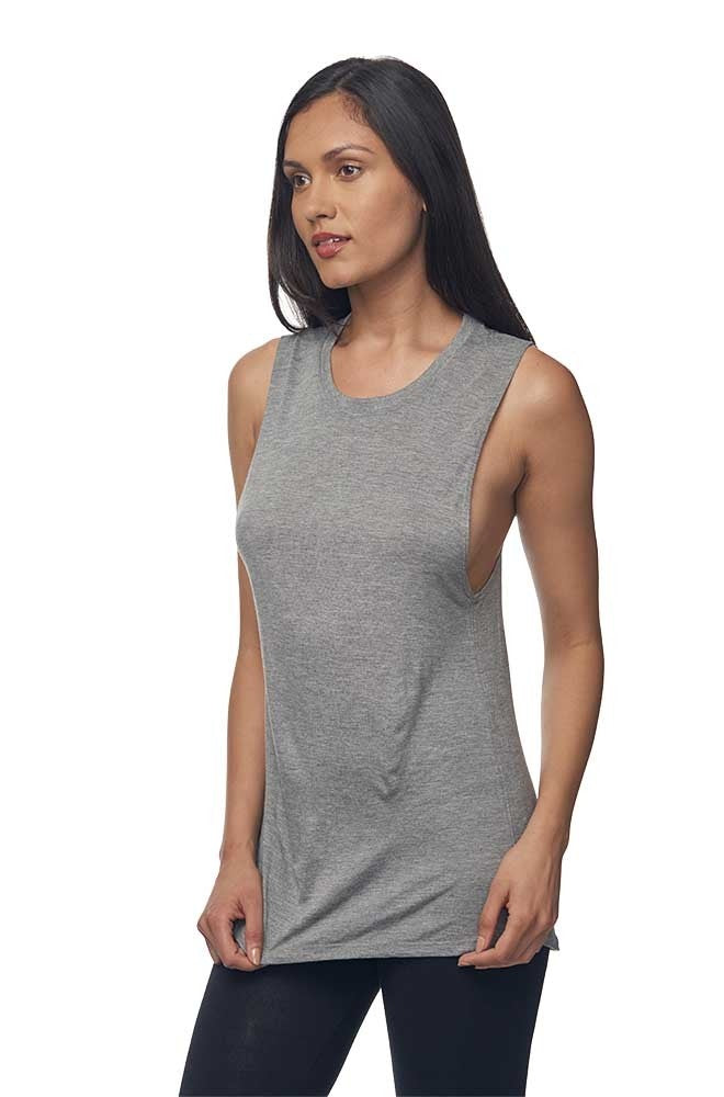 Viscose Bamboo & Organic Cotton Muscle
