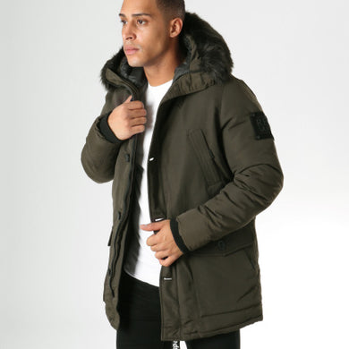 REDSKINS - EVEREST PELE PARKA 2 PARAMOUNT GREEN KHAKI